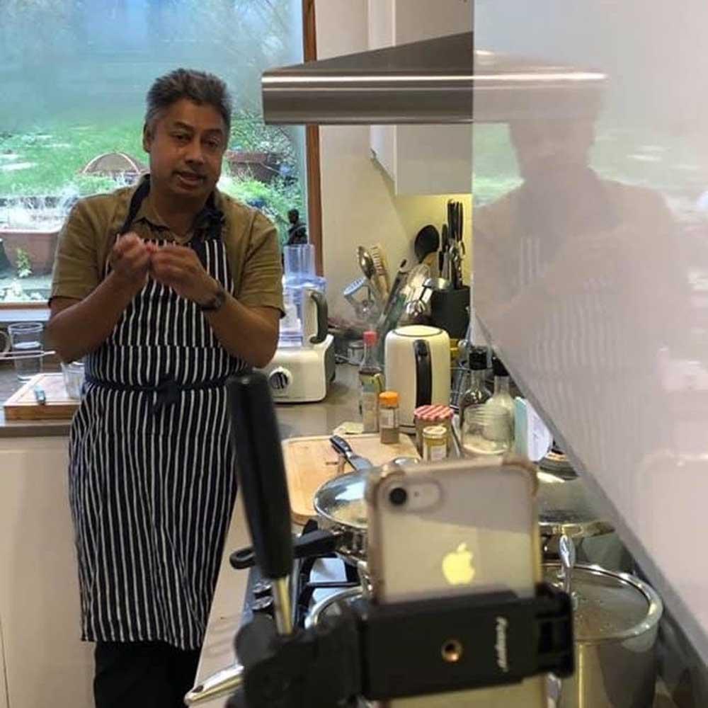 Ken in the kitchen